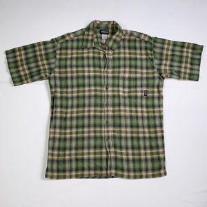 Patagonia Organic Cotton Earth Tones Button Shirt